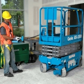 Genie-19-Narrow-scissor-lift-rentals